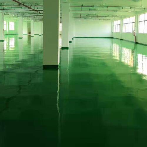 耐磨地坪漆的施工工艺