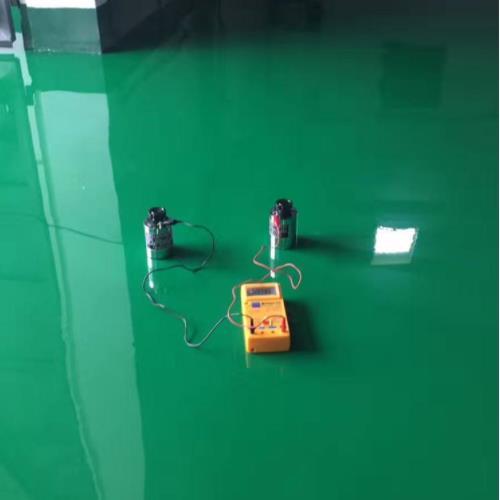 地坪漆施工后表面的为什么有麻点?