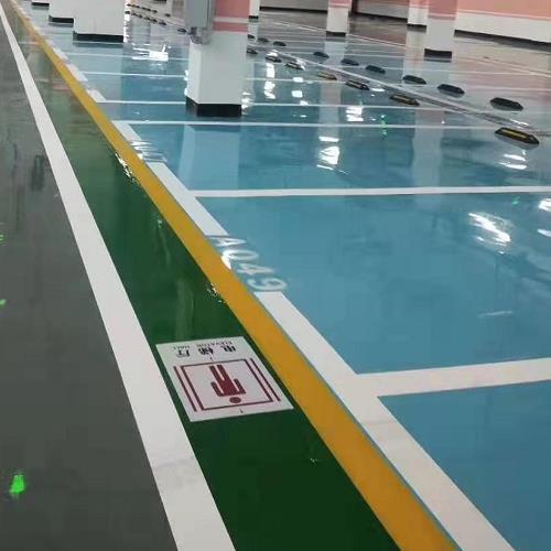 在深圳一般的停车场地坪漆施工流程