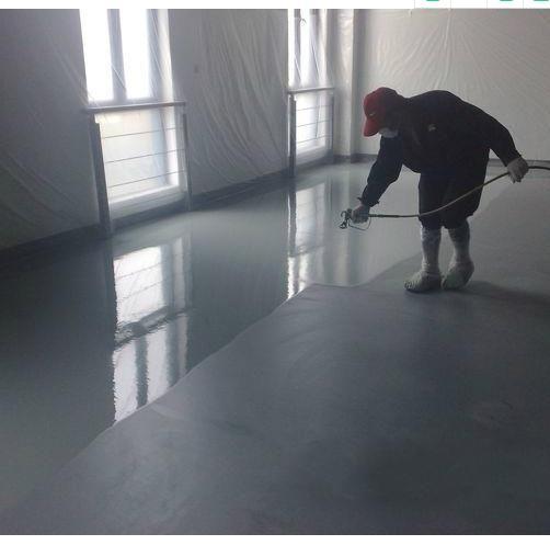 水性地坪漆施工喷涂技巧及工艺