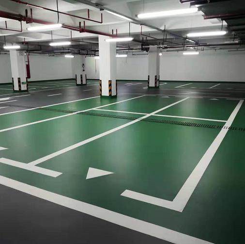 车库地坪漆划线是用环氧漆还是丙烯酸漆