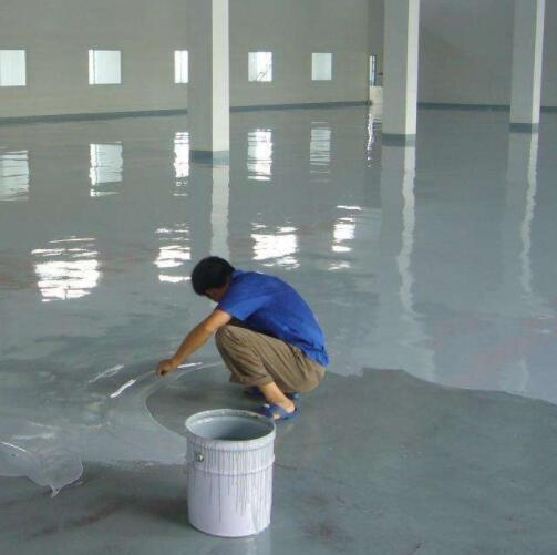 我公司地坪漆工程助力口罩生产车间投产