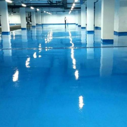 水性地坪漆适合用在什么场所?